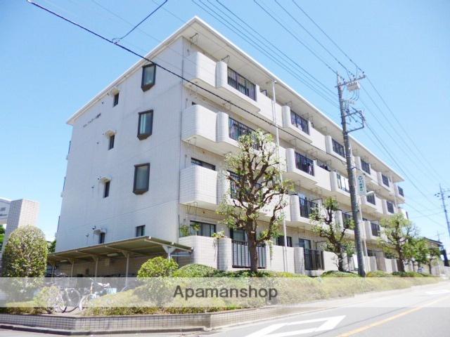 埼玉県さいたま市浦和区、与野駅徒歩23分の築25年 4階建の賃貸マンション