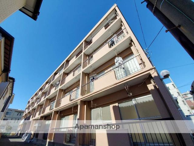 埼玉県さいたま市中央区、与野本町駅徒歩8分の築43年 4階建の賃貸マンション