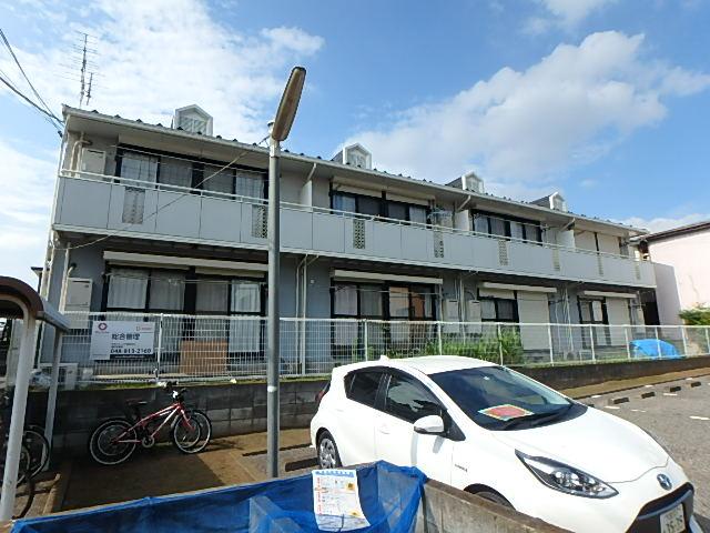 埼玉県さいたま市中央区、与野本町駅徒歩24分の築25年 2階建の賃貸アパート