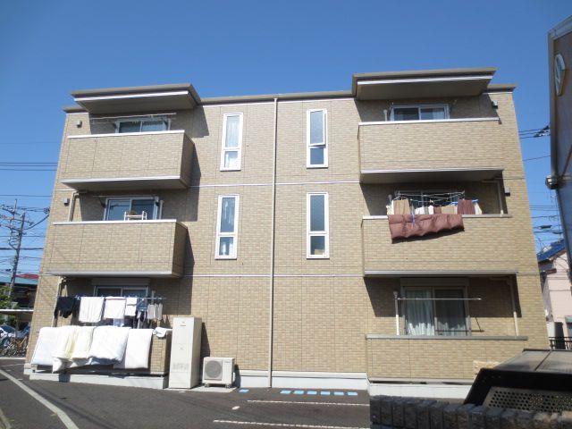 埼玉県さいたま市浦和区、与野駅徒歩12分の築5年 3階建の賃貸アパート
