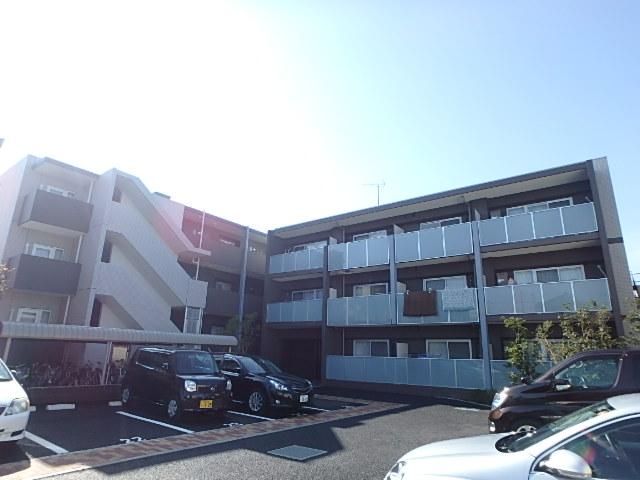 埼玉県さいたま市中央区、南与野駅徒歩13分の築3年 3階建の賃貸マンション