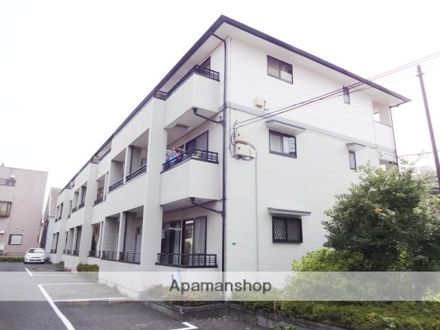 埼玉県さいたま市中央区、南与野駅徒歩11分の築21年 3階建の賃貸アパート