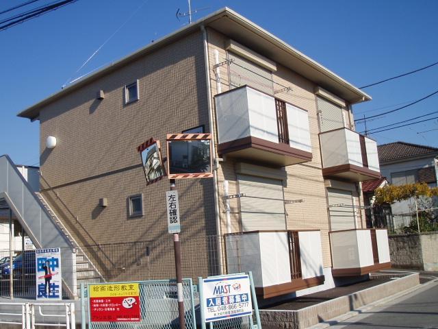 埼玉県さいたま市桜区、与野本町駅徒歩28分の築9年 2階建の賃貸アパート