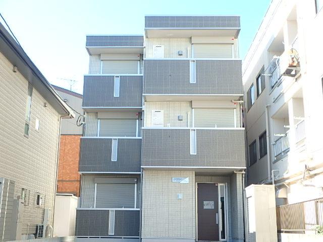 埼玉県さいたま市中央区、与野本町駅徒歩11分の築3年 3階建の賃貸アパート