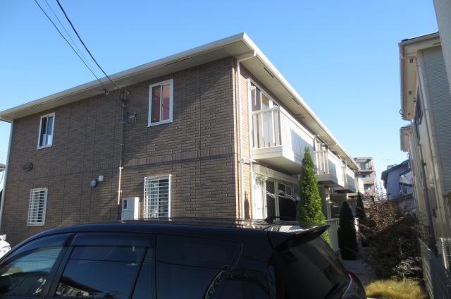 埼玉県さいたま市浦和区、北浦和駅バス9分東下木崎下車後徒歩5分の築8年 2階建の賃貸アパート