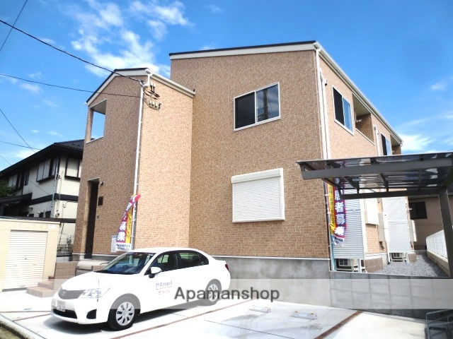 埼玉県さいたま市浦和区、与野駅徒歩19分の新築 2階建の賃貸アパート
