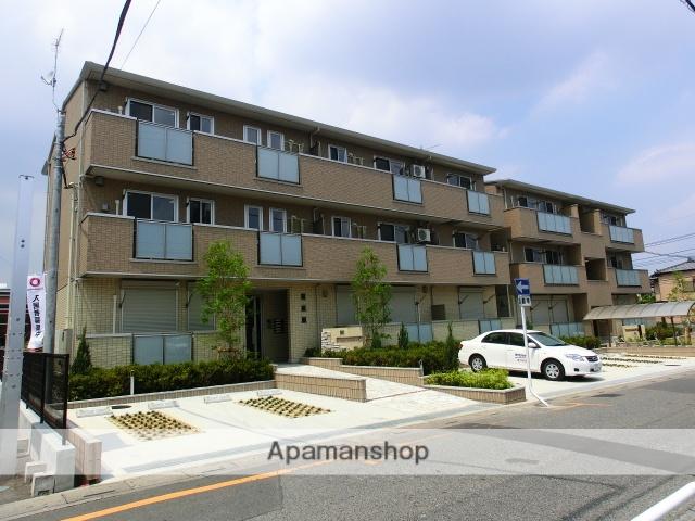 埼玉県さいたま市中央区、与野本町駅徒歩11分の築6年 3階建の賃貸アパート