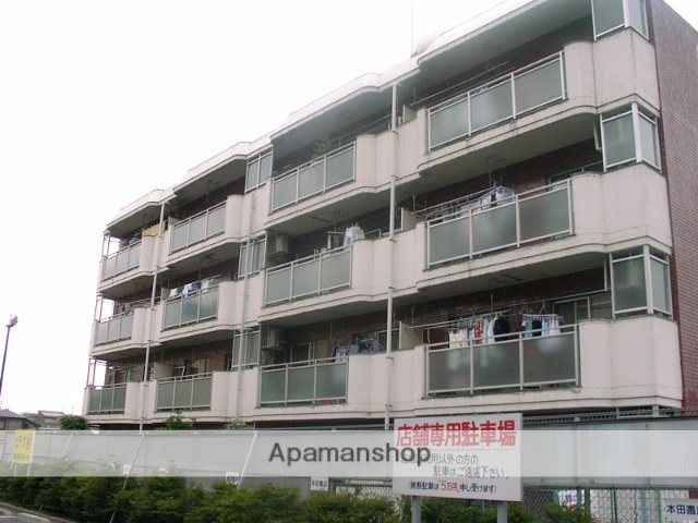 埼玉県さいたま市中央区、南与野駅徒歩5分の築34年 4階建の賃貸マンション