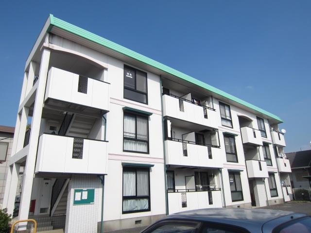 埼玉県さいたま市中央区、与野本町駅徒歩4分の築21年 3階建の賃貸アパート