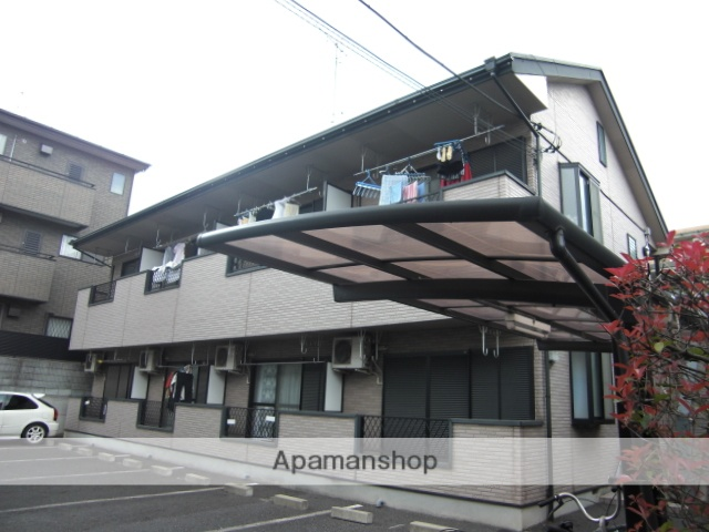 埼玉県さいたま市中央区、与野本町駅徒歩15分の築18年 2階建の賃貸アパート