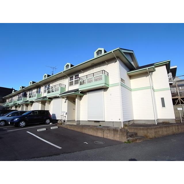 埼玉県さいたま市浦和区、さいたま新都心駅徒歩25分の築27年 2階建の賃貸テラスハウス