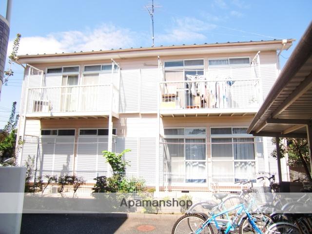 埼玉県さいたま市中央区、与野本町駅徒歩20分の築23年 2階建の賃貸アパート