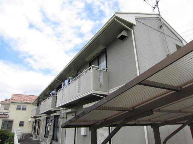 埼玉県さいたま市浦和区、さいたま新都心駅徒歩18分の築24年 2階建の賃貸アパート