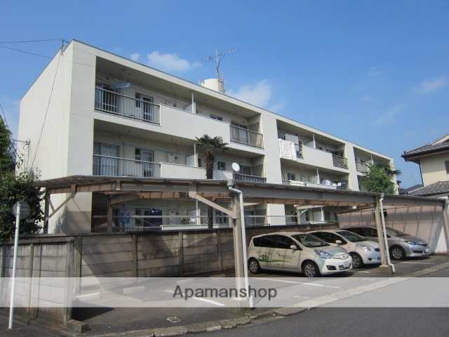埼玉県さいたま市浦和区、さいたま新都心駅徒歩26分の築49年 3階建の賃貸マンション