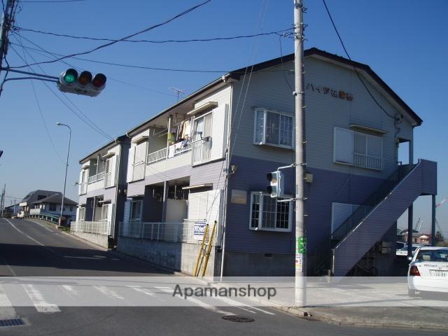 埼玉県さいたま市桜区、与野本町駅バス12分在家橋下車後徒歩3分の築23年 2階建の賃貸アパート