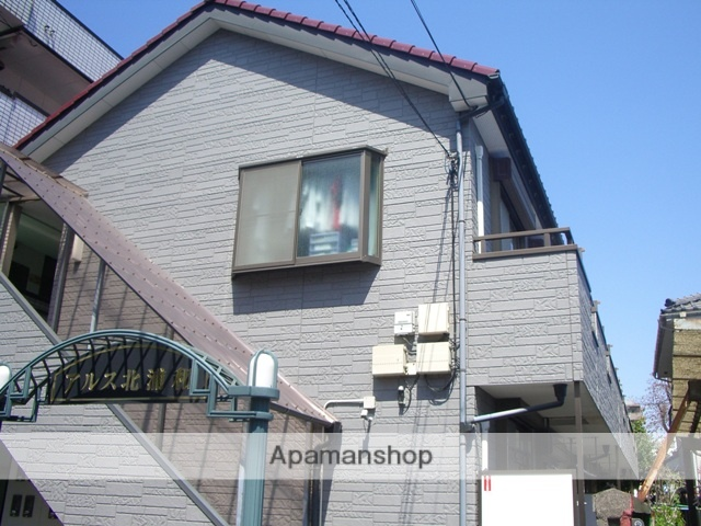 埼玉県さいたま市中央区、南与野駅徒歩8分の築18年 2階建の賃貸アパート