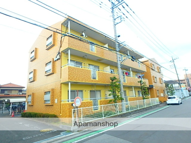 埼玉県さいたま市大宮区、大宮駅徒歩20分の築23年 3階建の賃貸マンション