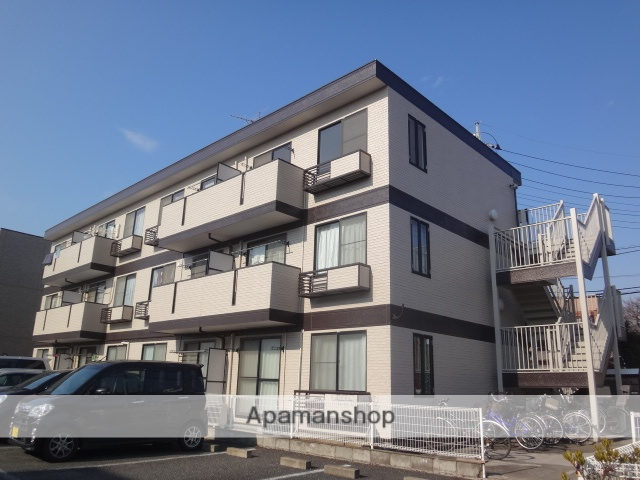 埼玉県さいたま市北区、宮原駅徒歩22分の築23年 3階建の賃貸マンション