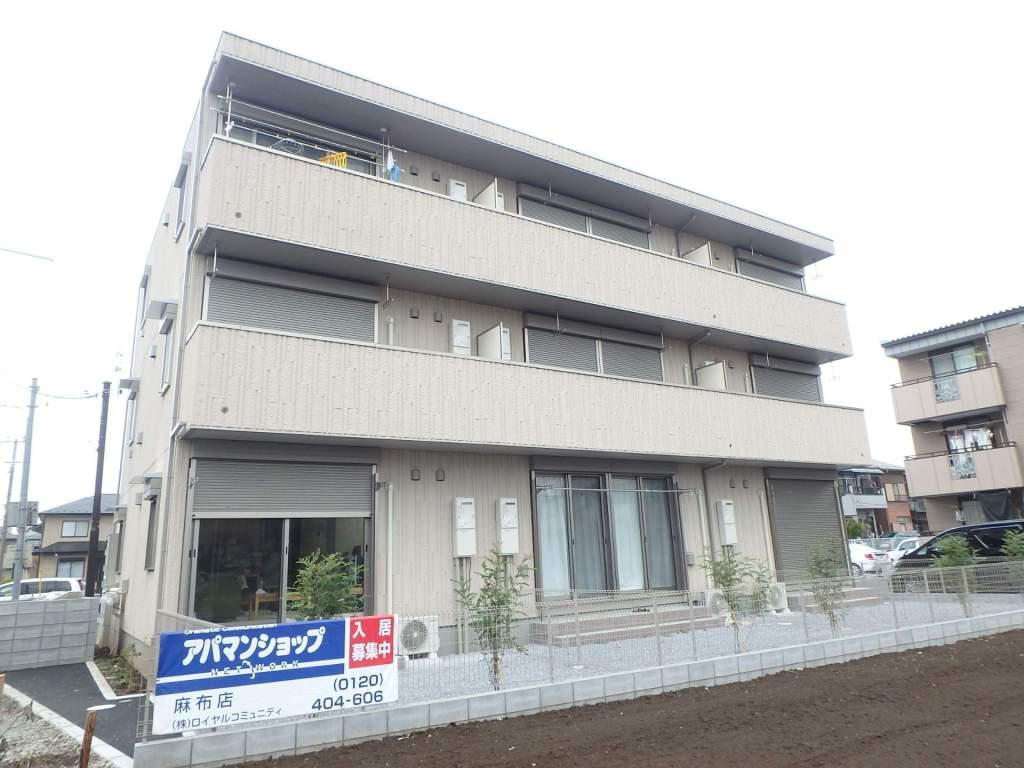 埼玉県さいたま市西区、指扇駅徒歩13分の築2年 3階建の賃貸アパート
