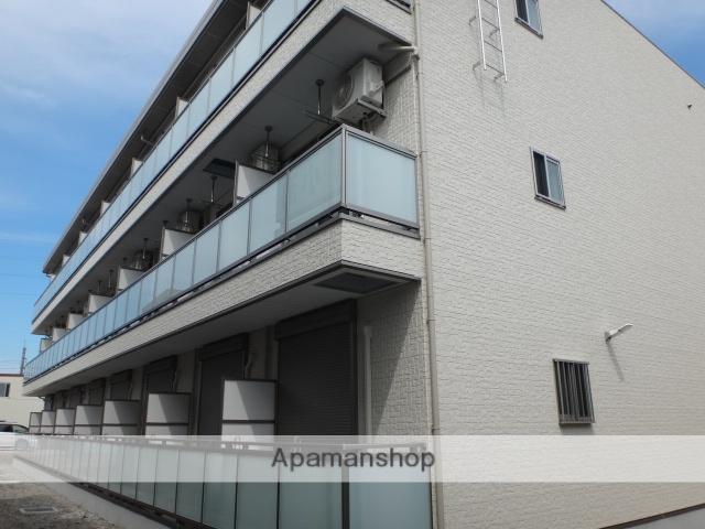 埼玉県さいたま市西区、指扇駅徒歩2分の築2年 3階建の賃貸マンション
