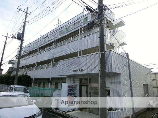 埼玉県さいたま市北区、大宮駅徒歩18分の築30年 4階建の賃貸マンション