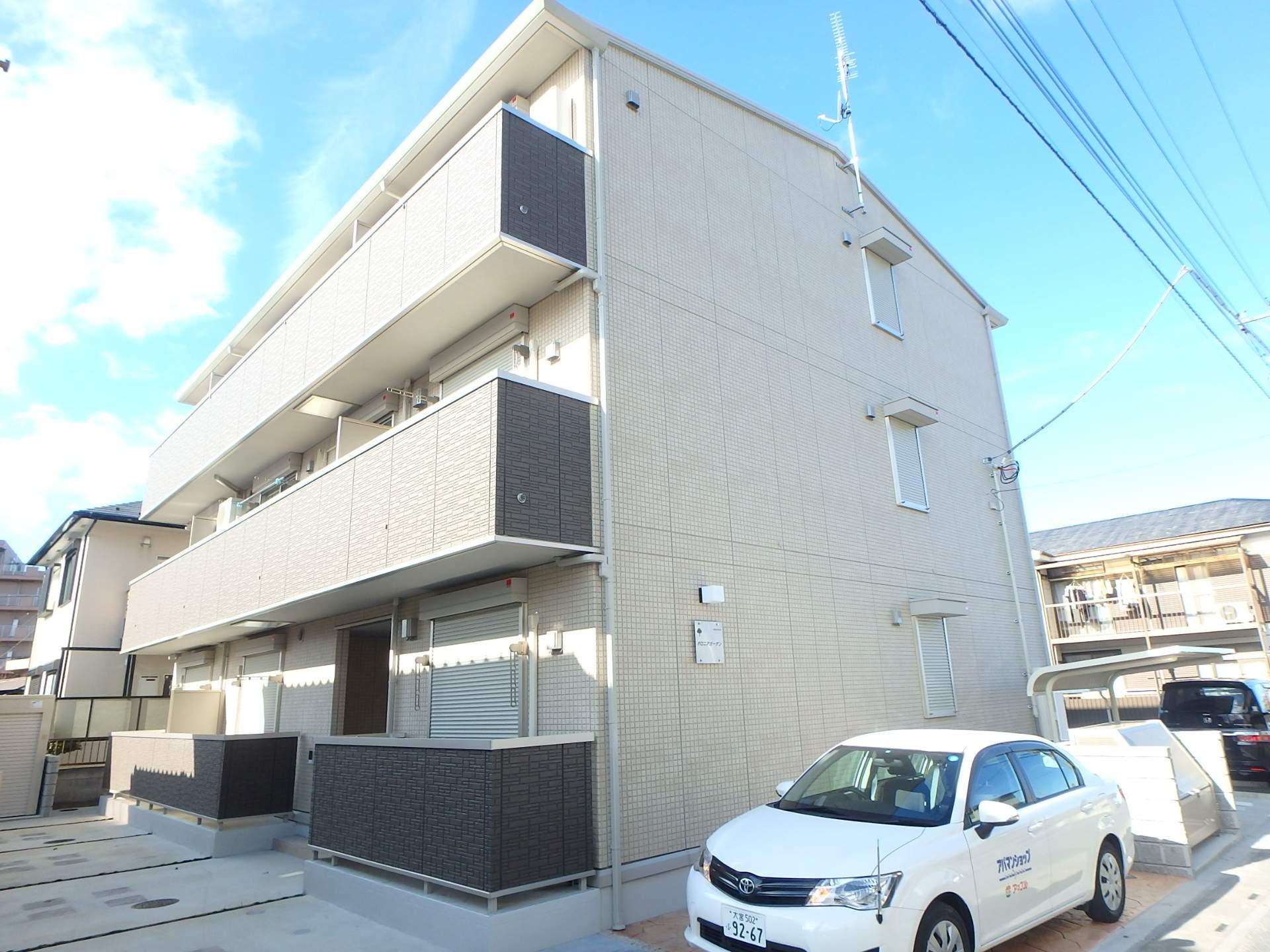 埼玉県さいたま市大宮区、北与野駅徒歩25分の築2年 3階建の賃貸アパート