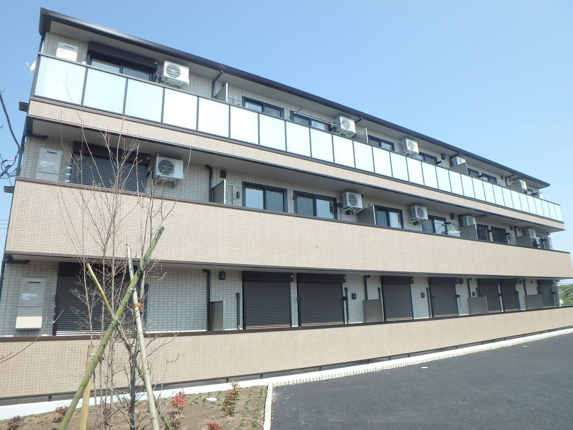 埼玉県さいたま市西区、西大宮駅徒歩12分の築1年 3階建の賃貸アパート
