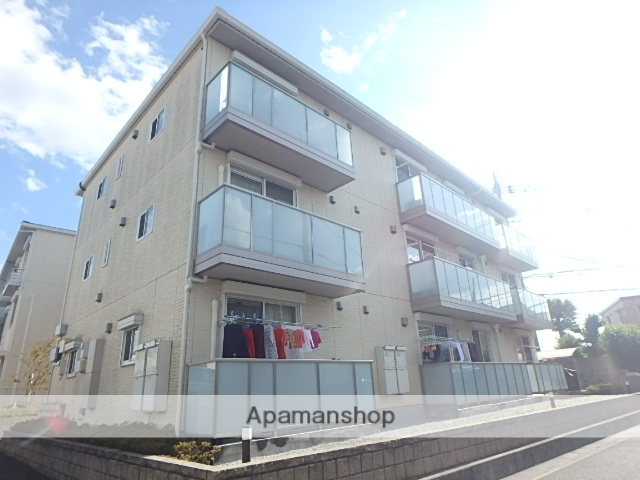 埼玉県さいたま市西区、指扇駅徒歩6分の築2年 3階建の賃貸アパート