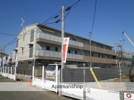 埼玉県さいたま市北区、東大宮駅徒歩23分の築1年 3階建の賃貸アパート