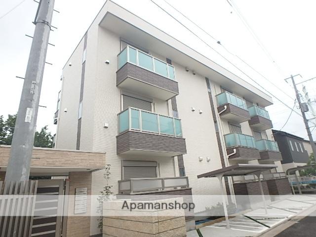 埼玉県さいたま市大宮区、土呂駅徒歩15分の築1年 3階建の賃貸アパート