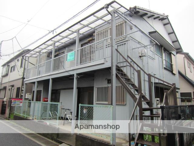 埼玉県さいたま市北区、日進駅徒歩4分の築45年 2階建の賃貸アパート