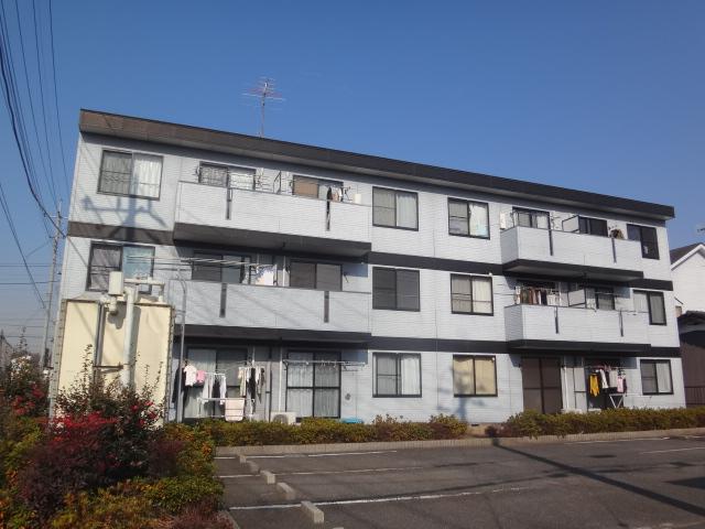 埼玉県さいたま市北区、宮原駅徒歩22分の築22年 3階建の賃貸アパート