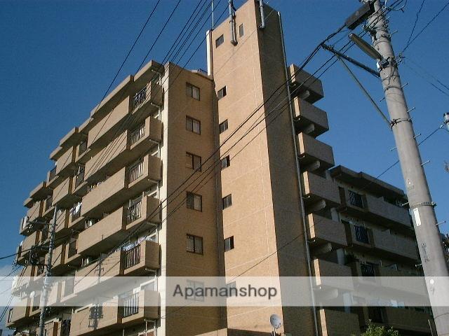 埼玉県さいたま市北区、宮原駅徒歩17分の築25年 8階建の賃貸マンション
