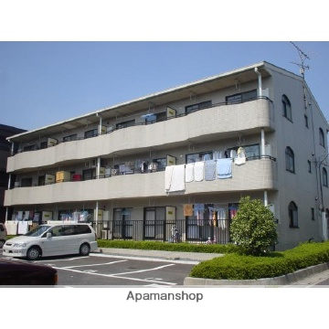 埼玉県さいたま市北区、宮原駅徒歩13分の築23年 3階建の賃貸マンション