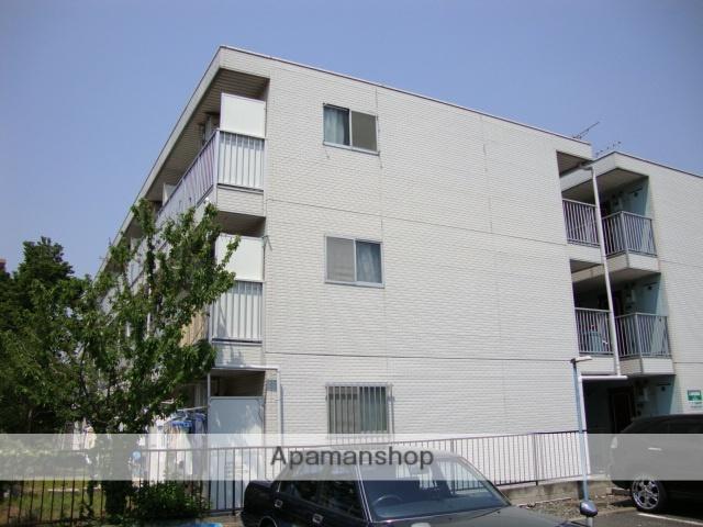 埼玉県さいたま市北区、日進駅徒歩20分の築23年 3階建の賃貸マンション