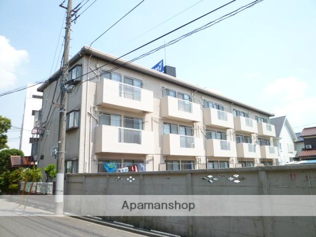 埼玉県さいたま市大宮区、大宮駅徒歩17分の築25年 3階建の賃貸アパート