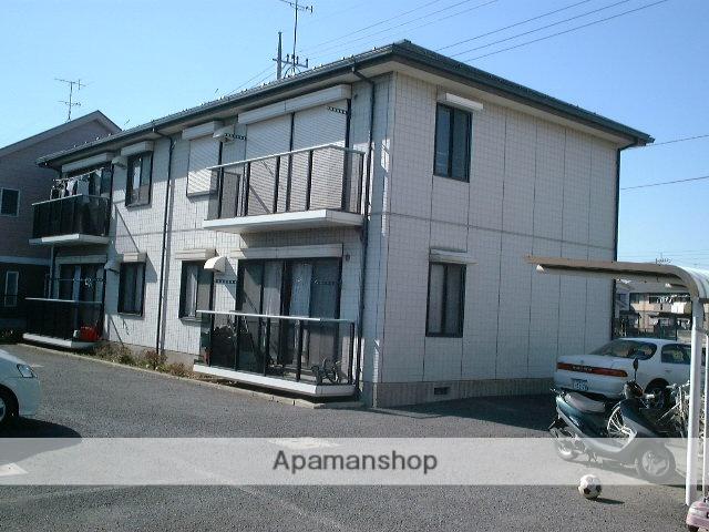 埼玉県さいたま市西区、大宮駅バス15分県営住宅前下車後徒歩6分の築24年 2階建の賃貸アパート
