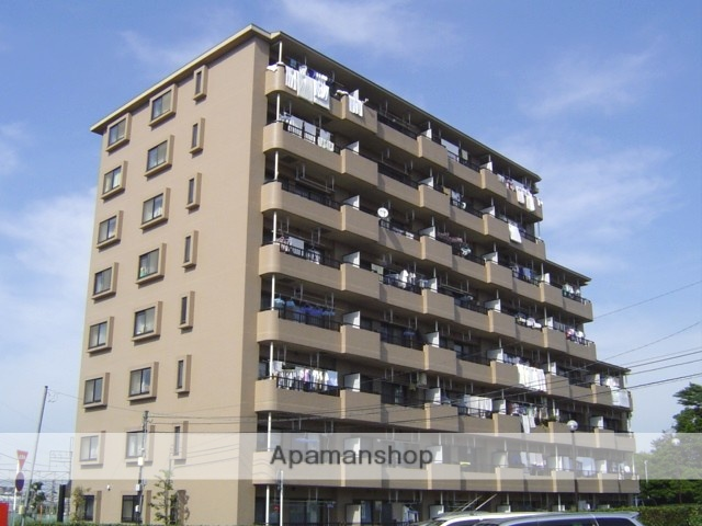 埼玉県さいたま市北区、土呂駅徒歩9分の築21年 8階建の賃貸マンション