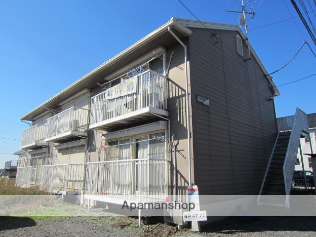埼玉県さいたま市西区、大宮駅バス15分佐知川原下車後徒歩2分の築24年 2階建の賃貸アパート