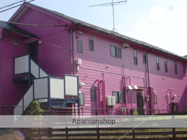 埼玉県さいたま市大宮区、大宮駅バス10分三橋2丁目下車後徒歩1分の築23年 2階建の賃貸アパート