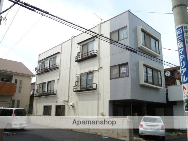 埼玉県さいたま市北区、日進駅徒歩5分の築25年 3階建の賃貸マンション