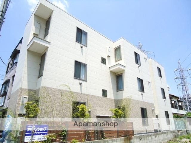 埼玉県さいたま市大宮区、大宮駅徒歩12分の築9年 3階建の賃貸アパート