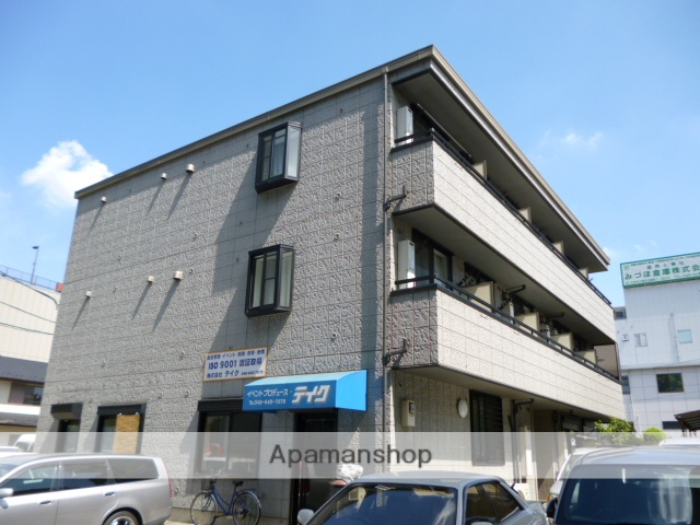埼玉県さいたま市大宮区、北与野駅徒歩17分の築14年 3階建の賃貸マンション