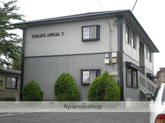 埼玉県さいたま市西区、指扇駅徒歩18分の築22年 2階建の賃貸アパート