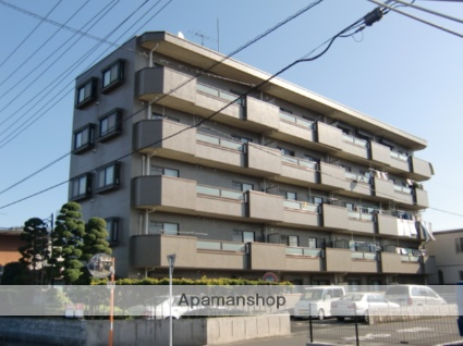 埼玉県さいたま市大宮区、大宮駅徒歩16分の築23年 5階建の賃貸マンション
