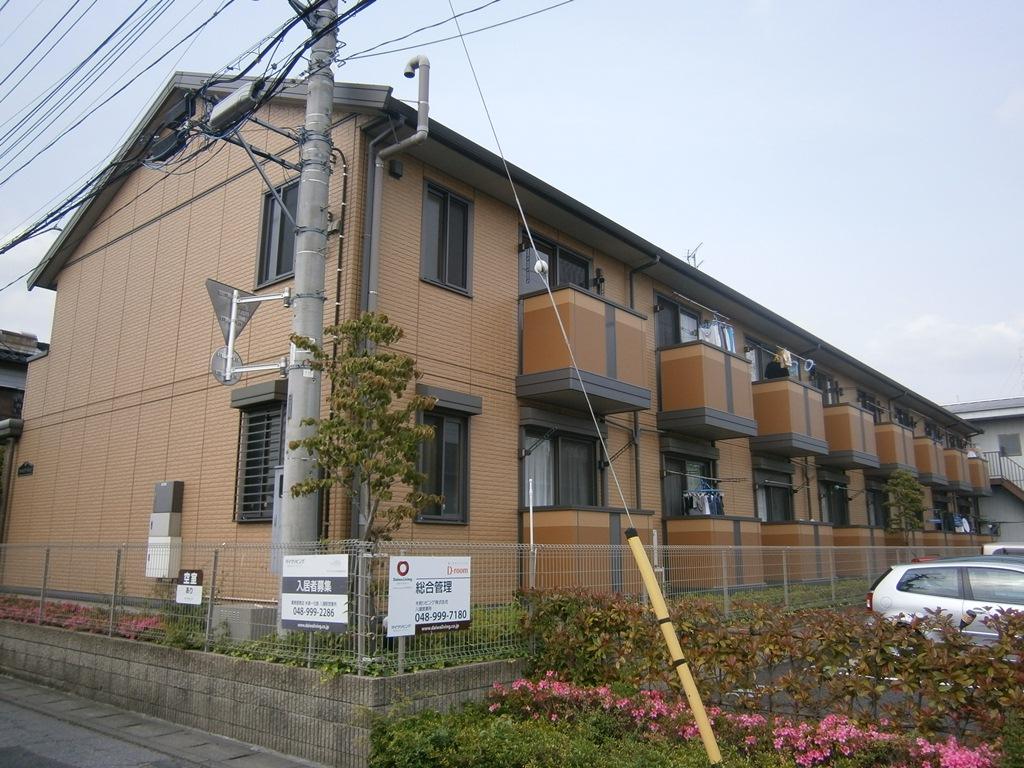 埼玉県八潮市、六町駅徒歩27分の築9年 2階建の賃貸アパート