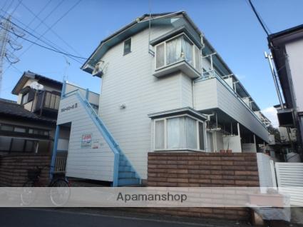 埼玉県草加市、松原団地駅徒歩22分の築29年 2階建の賃貸アパート