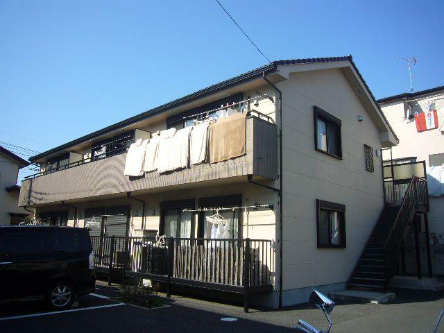 埼玉県草加市、草加駅徒歩26分の築9年 2階建の賃貸アパート