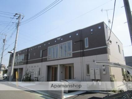 埼玉県八潮市、草加駅バス18分八潮市役所下車後徒歩2分の築2年 2階建の賃貸アパート