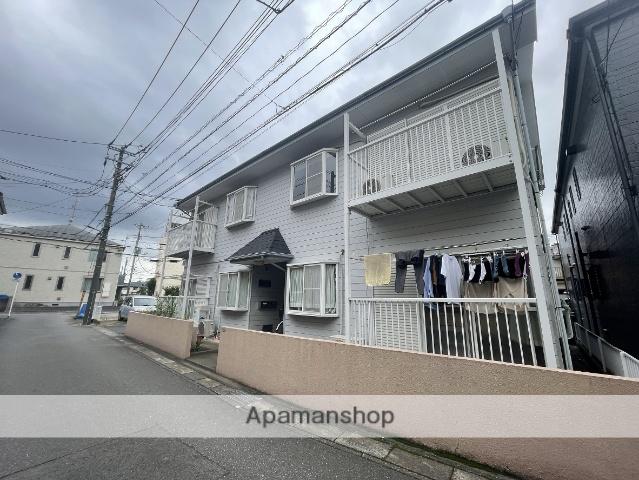 埼玉県草加市、草加駅徒歩9分の築24年 2階建の賃貸アパート